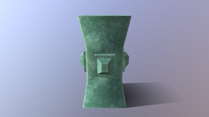 Unknown Jade Artefact 3D Model
