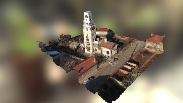 Private Tower - Chepintsi, Petko Ogoyski 3D Model
