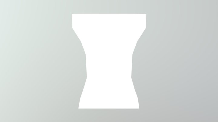 FEMALE TORSO MODEL (MINECRAFT, BLOCKBUSTER) 3D Model
