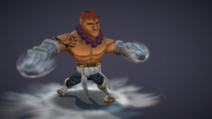 Xavo, The Monk 3D Model