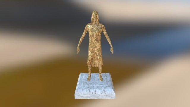 Heh Egyptian God Of Infinity 3D Model