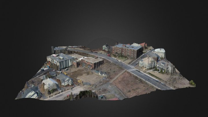 YMCA construction project in West Roxbury 3D Model