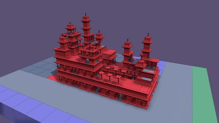 VARC Half Arch Building System 3D Model