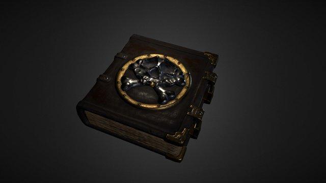 Book of secrets 3D Model