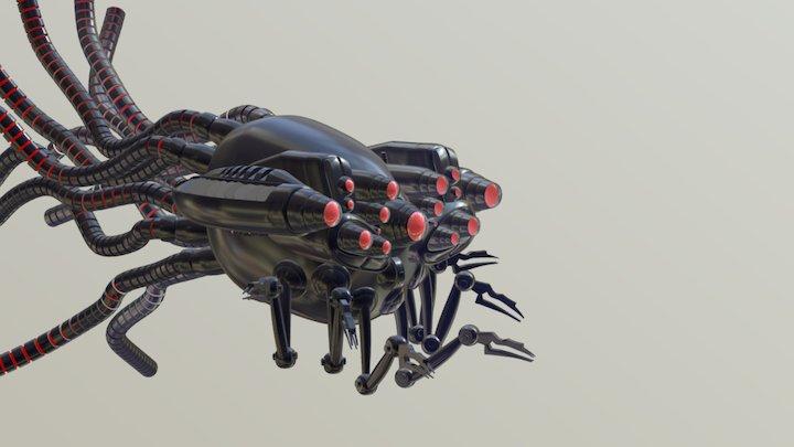 Sentinelle - Matrix 3D Model