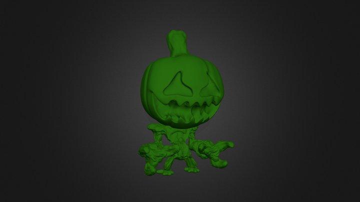 Pumpkin v4 3D Model