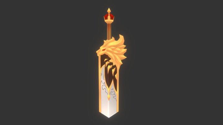 Seven Knights Sword 2 3D Model