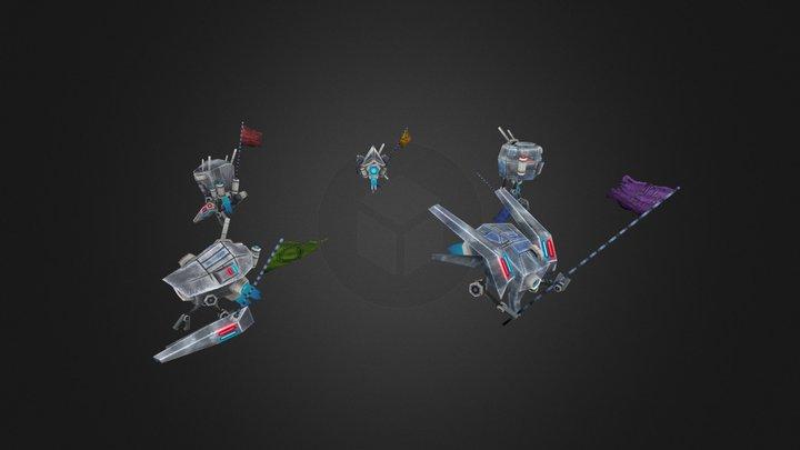 Drones 3D Model