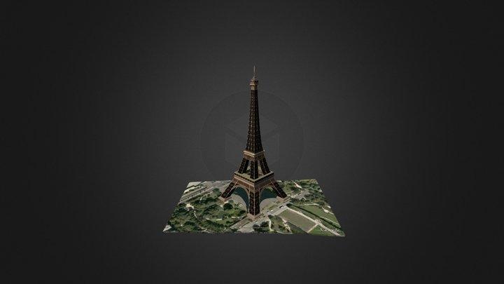 Eiffel Tower, Paris 3D Model