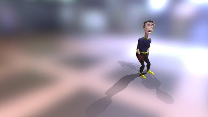 Goalkeeper 3D Model