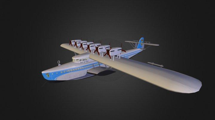 Dornier Do X 3D Model