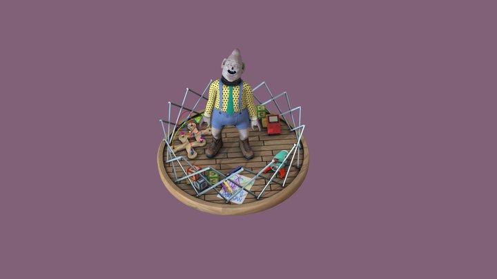 Clawson The Big Boy 3D Model
