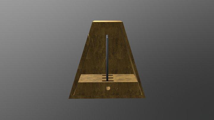 Metronomo Chiuso 3D Model