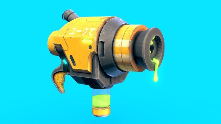 Acid Gun 3D Model