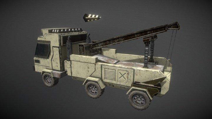 Remorqueuse_Desertland_Sen_Lai 3D Model