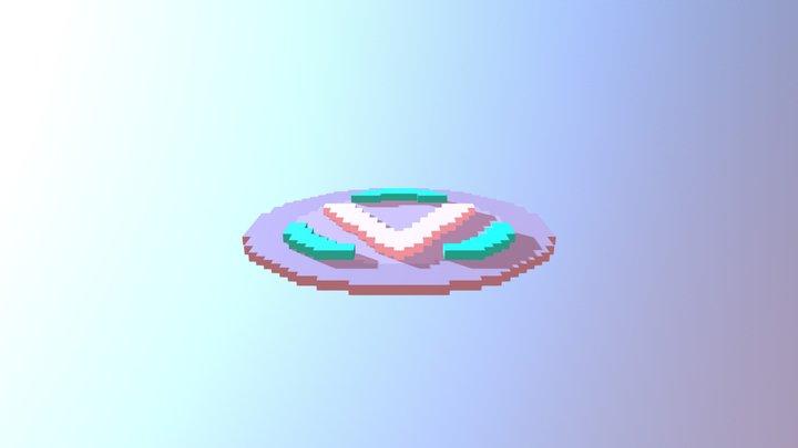V- Buck 4 4rtnite 3D Model