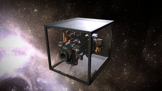 NDS - Prototype 553 Airlock Template V1D1 3D Model