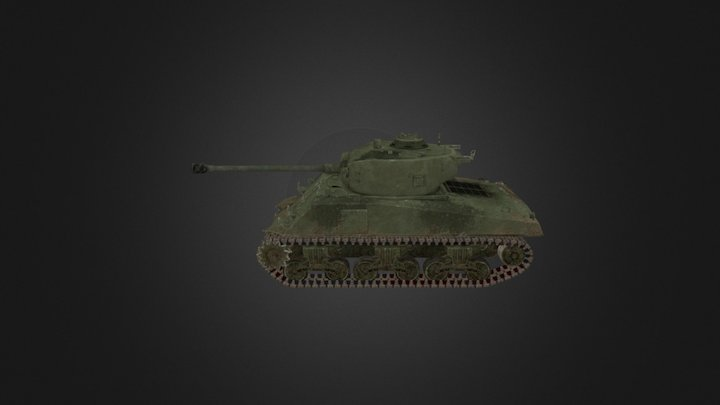 Sherman 3D Model