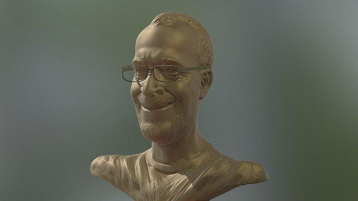 Ton Roosendaal 3D Model