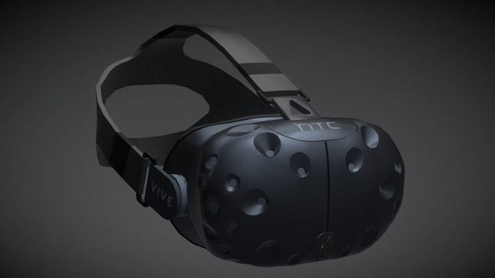 HTC Vive 3D Model