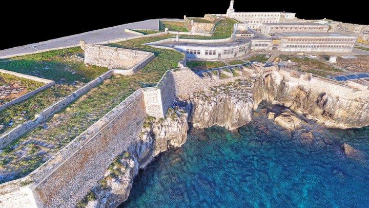 Fortress of Peniche, Portugal 3D Model