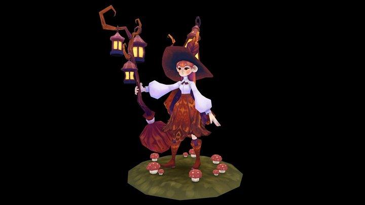 Lantern Witch #WitchChallenge 3D Model