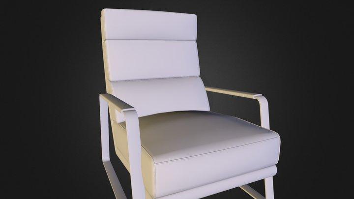 Koon_Armchair_High 3D Model