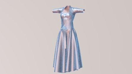 Dress of Minu 3D Model