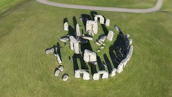 Stonehenge, Angleterre 3D Model