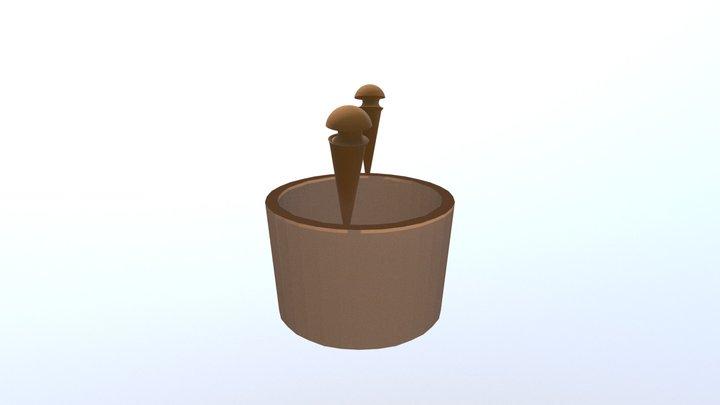 'Brides Cog' - Stewart's First Blender Model 3D Model