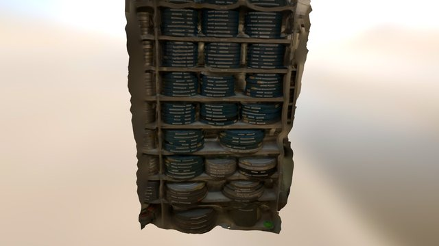 Film Collection 3D Model