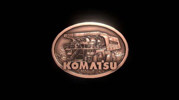 Hebilla Komatsu 930 V2 3D Model