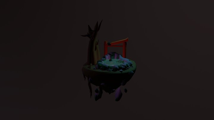 Floating Island Assessment 2 3D Model