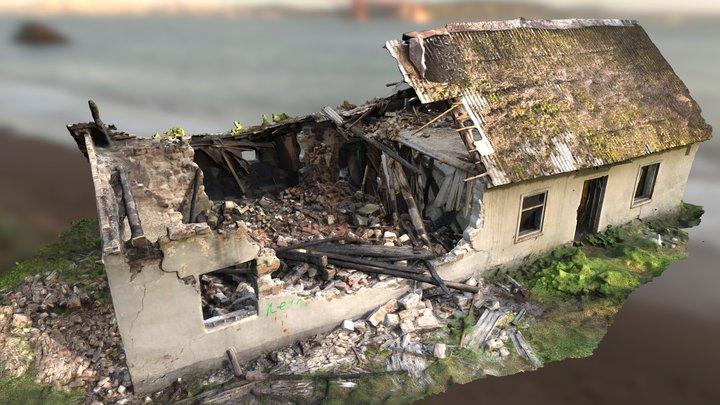 Abandoned Broken House 3D Scan 3D Model