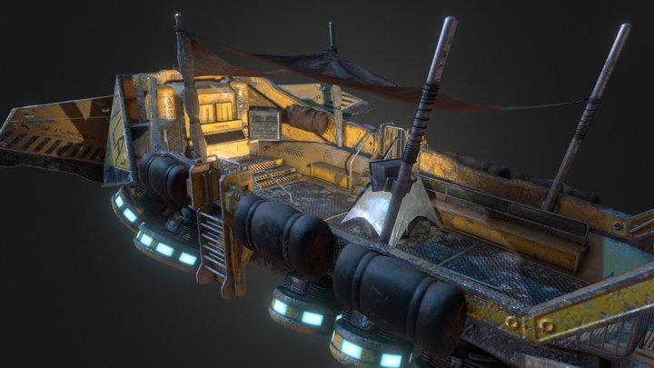 SKY LANDER 3D Model