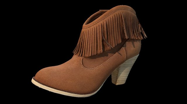 Ladies Ankle Boot 3D Model
