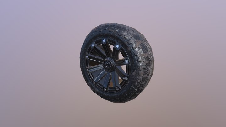 Ford Wheel Lp 3D Model