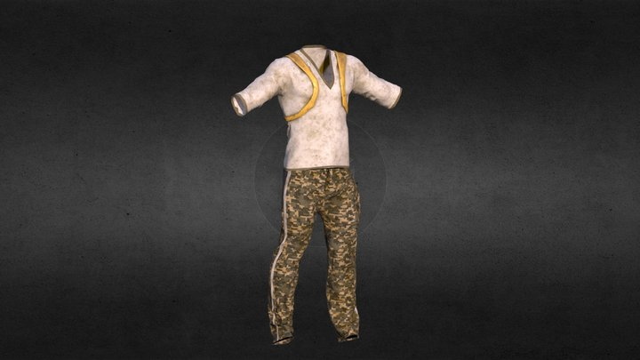 Solider Cloths 3D Model