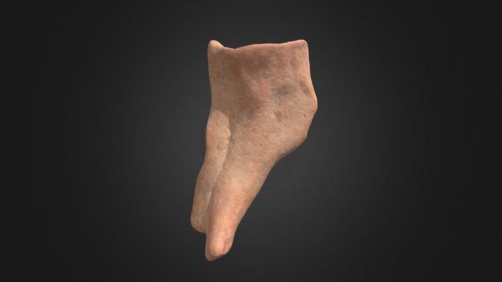 Fragmentary Mycenaean Figurine (TC4) 3D Model
