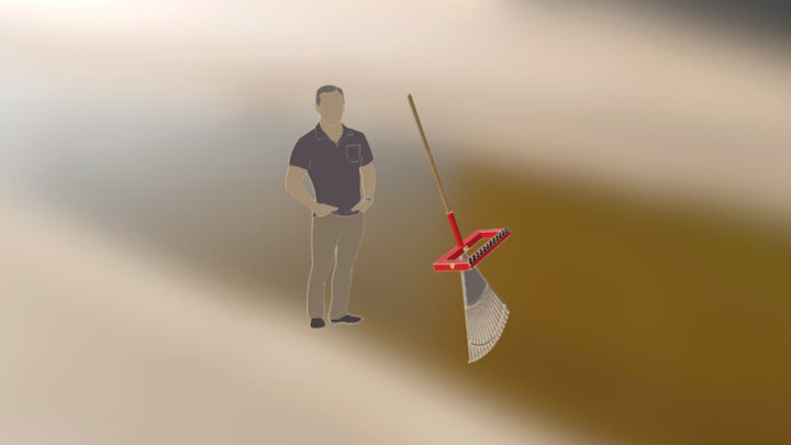 rake bagging attachment 3D Model