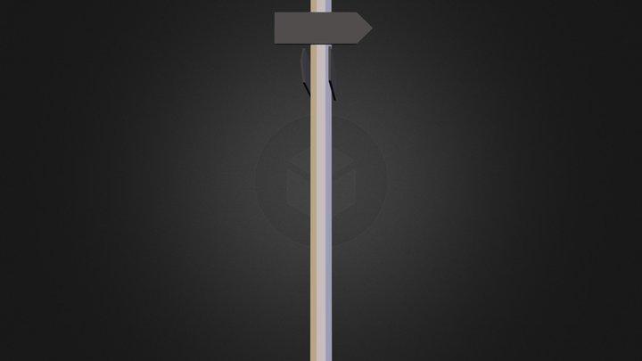 Signpost sketch 3D Model