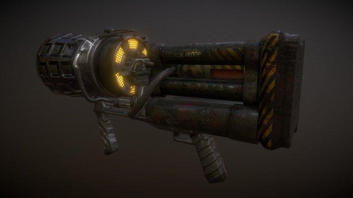 ThunderGun 3D Model