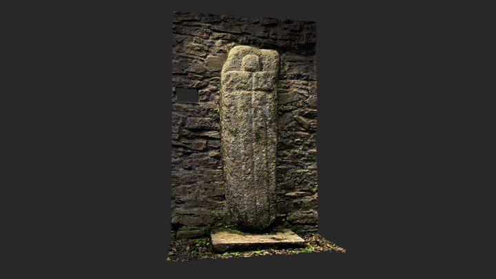 Furness Cross Slab - Possibly Early Medieval 3D Model