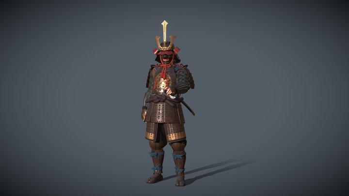 Samurai The Shogunate 3D Model