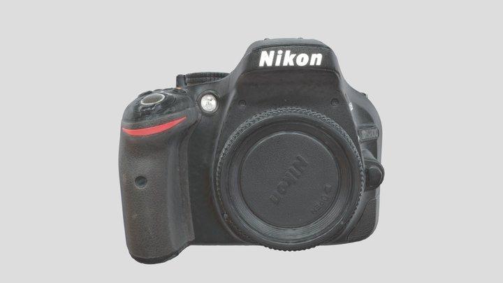 Nikon D5300 3D Model
