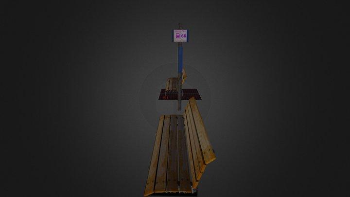 Prop_Bus_Stop 3D Model