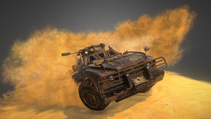 World at Arms - Outlander 3D Model