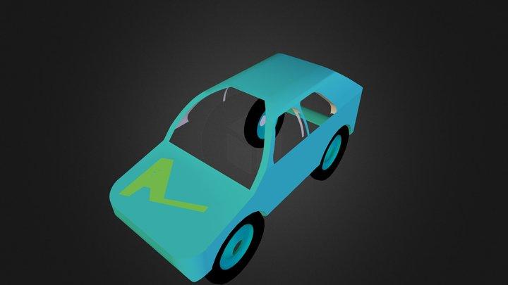 Coche A. Recio 3D Model