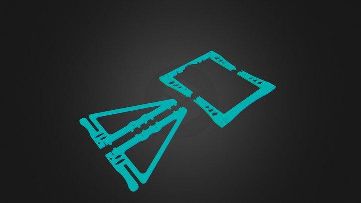 Abraham's Mod Frames 3D Model