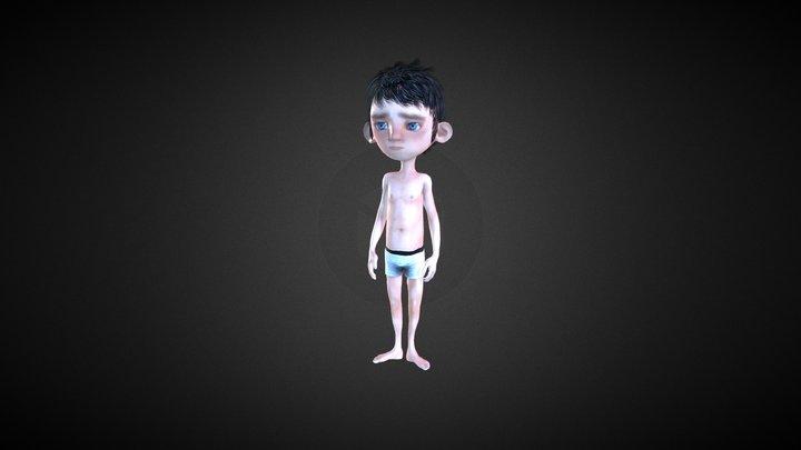 iClone Character Creator - Linus Morph 3D Model